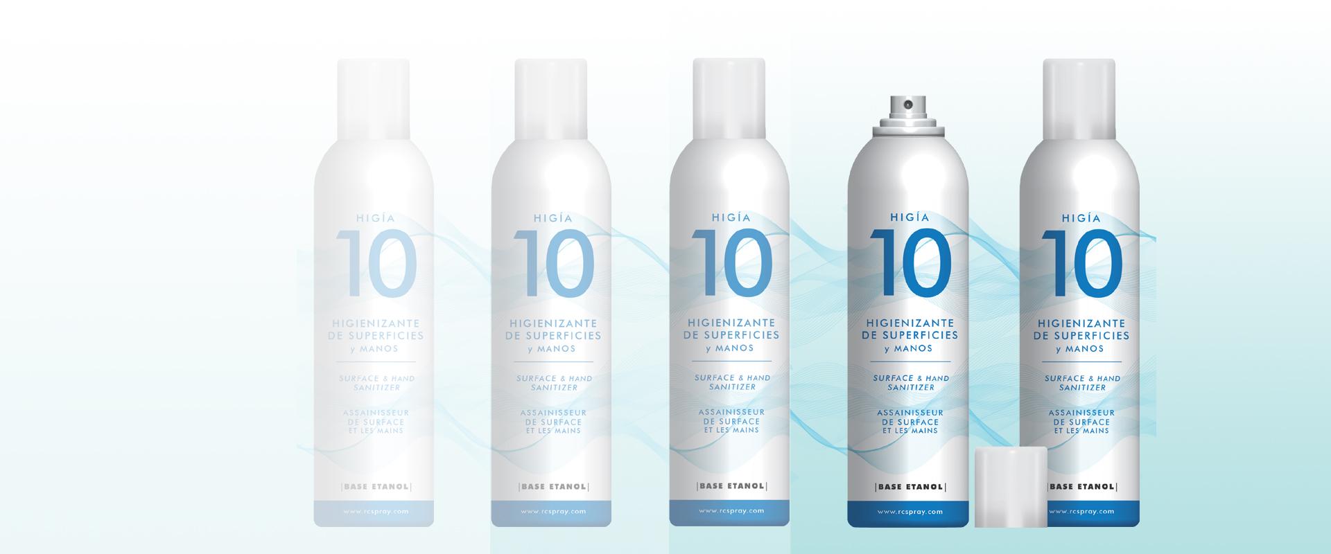 Spray Alcohol Higienizante